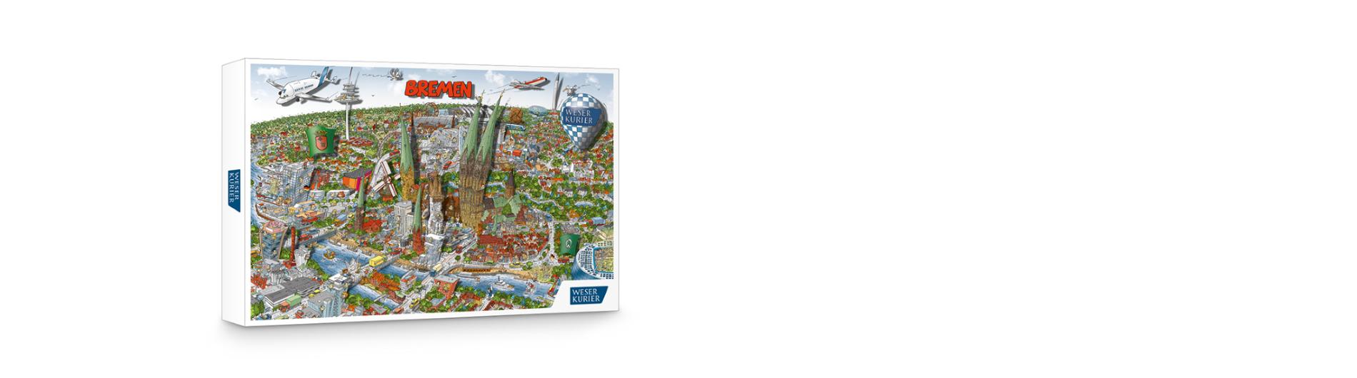 Wimmel Bremen-Puzzle